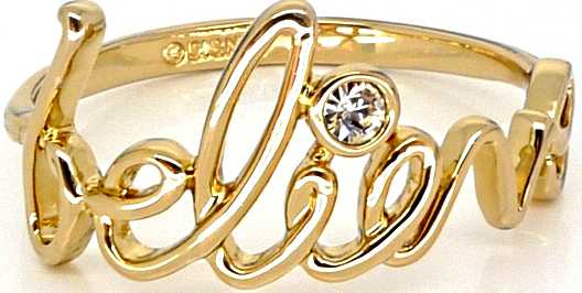 Disney-Couture-Gold-Plated-Believe-Word-Ring