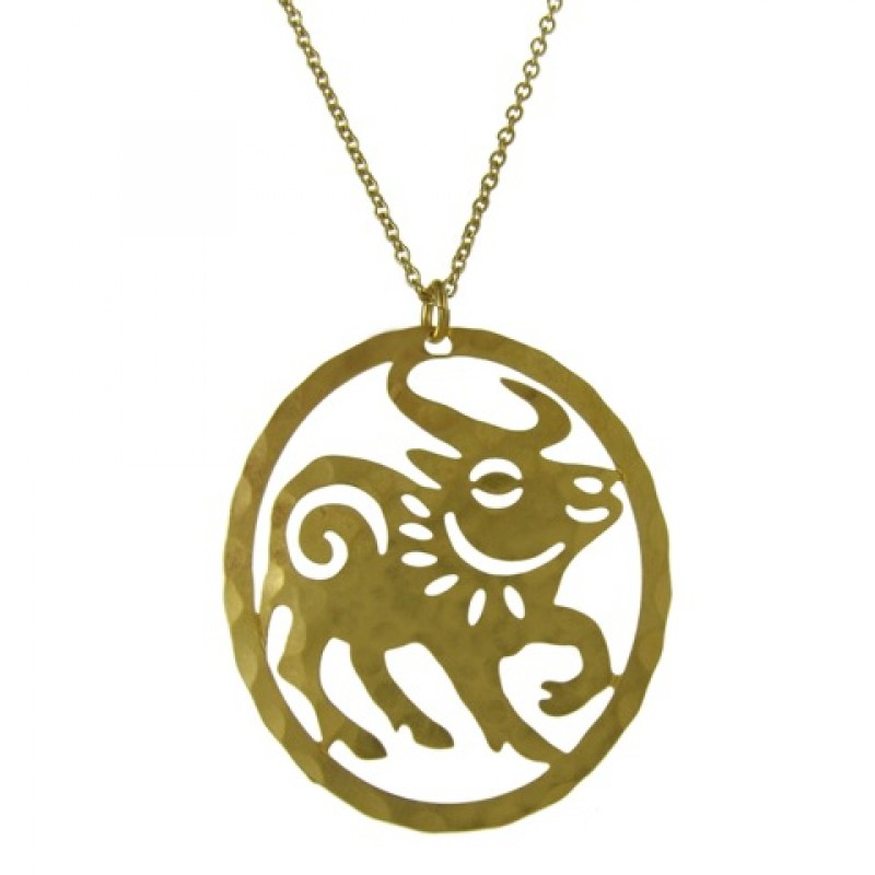 david aubrey chinese zodiac year of the ox necklace ebay. Black Bedroom Furniture Sets. Home Design Ideas